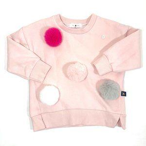 Petite Hailey Pom-Pom Sweatshirt